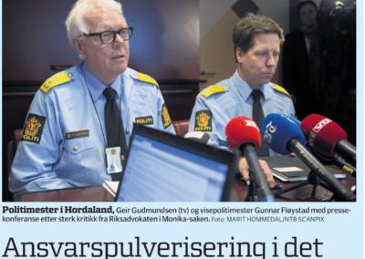 Ansvarspulverisering i det offentlige Norge
