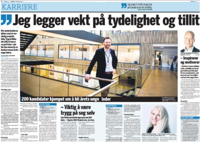 Trygve Håkedal, Årets unge Leder, er kåret