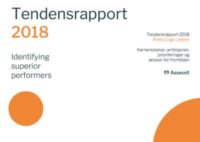Tendensrapporten 2018